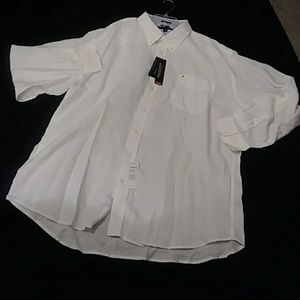 White Tommy Button Down